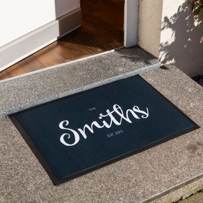 Gepersonaliseerd cadeau - Personaliseerbare deurmat