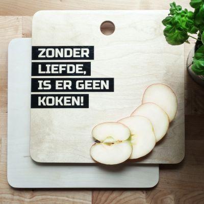 Exclusieve producten - Personaliseerbare snijplank