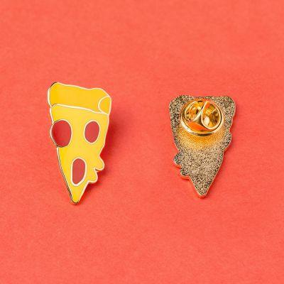 Grappige cadeaus - Pizzastuk pin