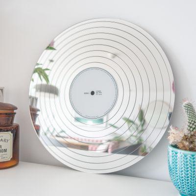 Retro kamer - Platina LP spiegel