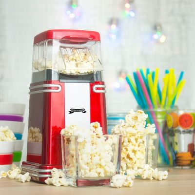 Nieuw - Retro mini popcorn machine