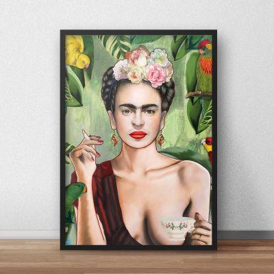 Posters - Frida poster van Nettsch