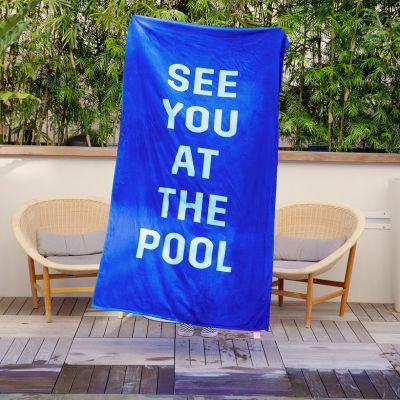 Outdoor - See You At The Pool strandlaken
