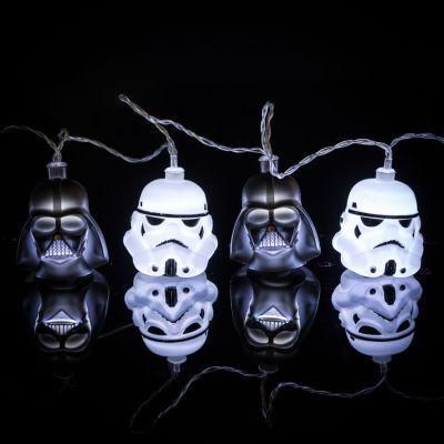Film & Serie - Star Wars Darth Vader & Stormtrooper lichtsnoer