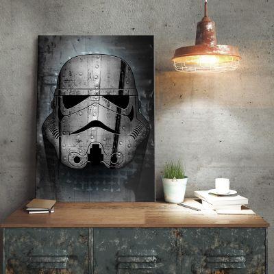 Film & Serie - Star Wars metaalposter - Irontrooper