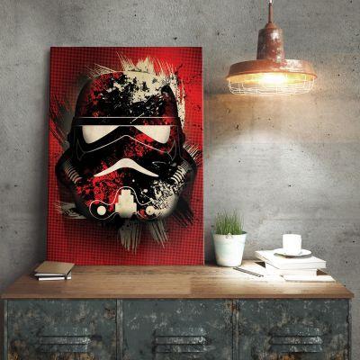 Poster - Star Wars metaalposter – Stormtrooper Splatter