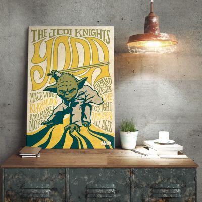 Poster - Star Wars metaalposter – Yoda