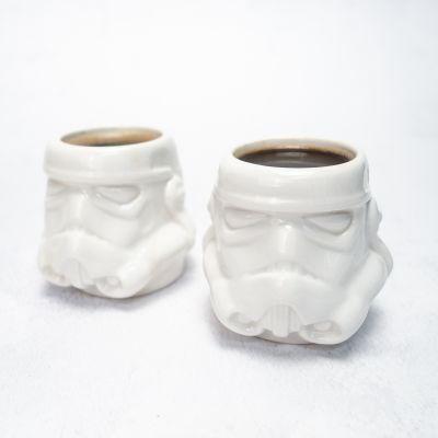 Kopjes & glazen - Original Stormtrooper Espressomok set