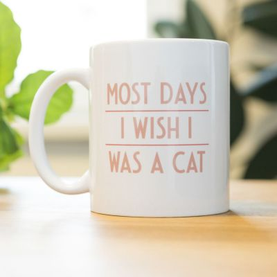 Nieuw - Most Days I Wish ... mok