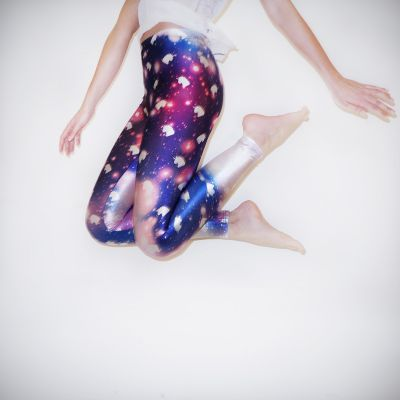 Kleding & accesoires - Galaxy eenhoorn leggings