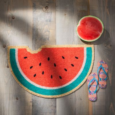 Housewarming cadeau - Deurmat met fruit design