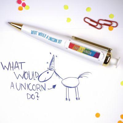 Kerstcadeau voor kinderen - Eenhoorn orakel pen
