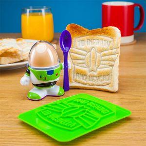 Buzz Lightyear eierdopje met vorm voor toast