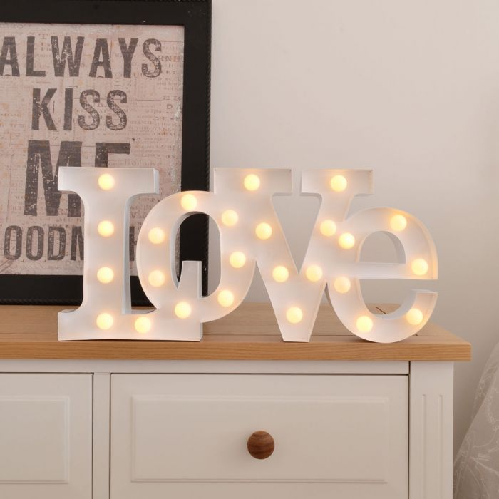 LED Licht - Liefde