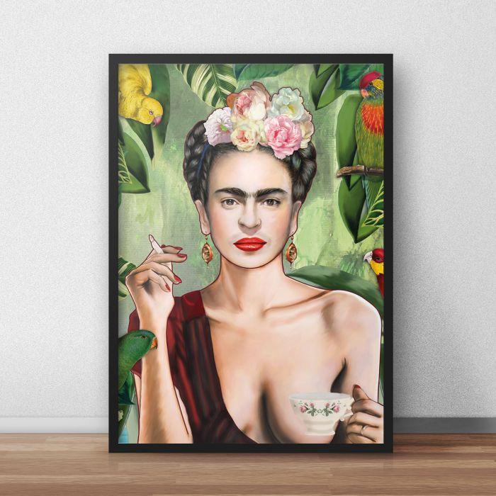 Frida poster van Nettsch