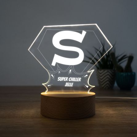 LED lamp Superman