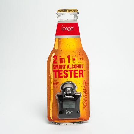 Alcohol tester voor smartphones