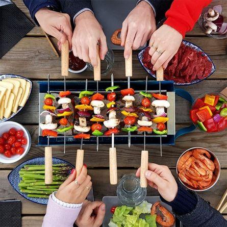 YAKI mobiele tafelbarbecue