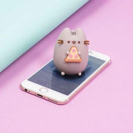 Pusheen Mini Bluetooth Speaker Pizza