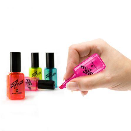 Markers in nagellak design