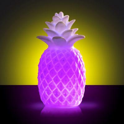 Ananas lamp met kleurverandering