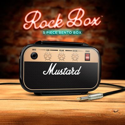 Mustard Rock & Roll broodtrommel