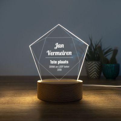 Cadeau idee - LED-licht met ster