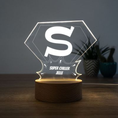 Exclusieve producten - LED lamp Superman