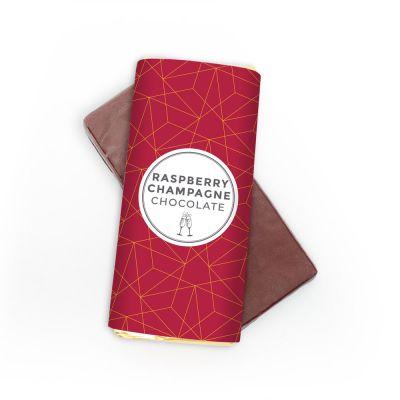 Champagne-frambozen chocolade Klassiek