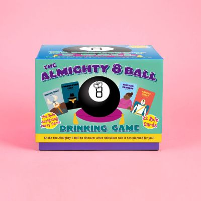 Fun & Games - Magic 8 Ball drankspel