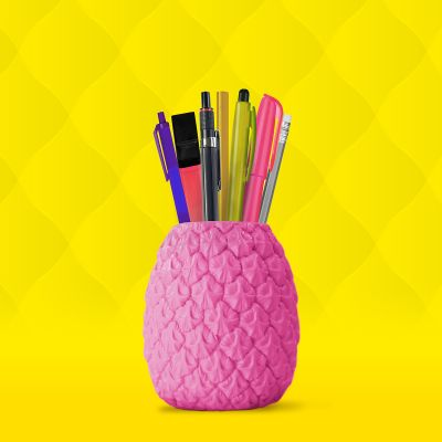 Back to school cadeaus - Ananas Pennenhouder