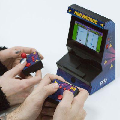 Fun & Games - Mini Arcade Console met Dual Controller