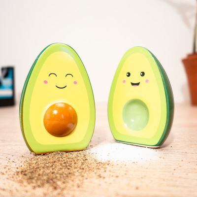 Keuken & barbeque - Happy avocado zout en peper vaatjes