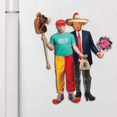 Fun & Games - Trump & Putin Dress Up magneten