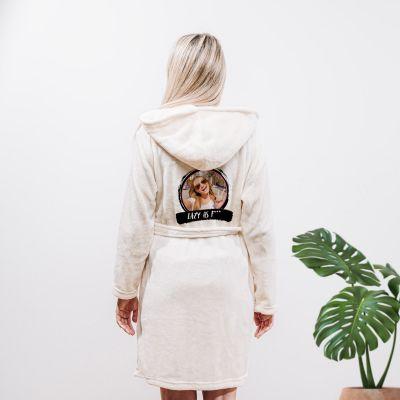 Kleding - Personaliseerbare badjas met foto & tekst