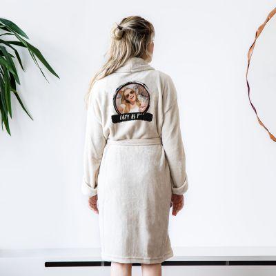 Cadeauvinder - Personaliseerbare badjas met foto & tekst