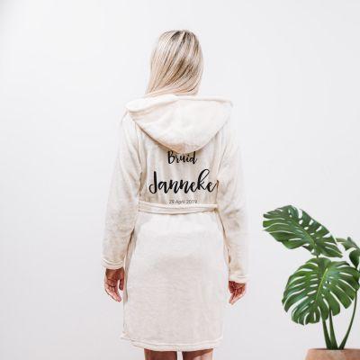 Kleding - Personaliseerbare badjas met naam