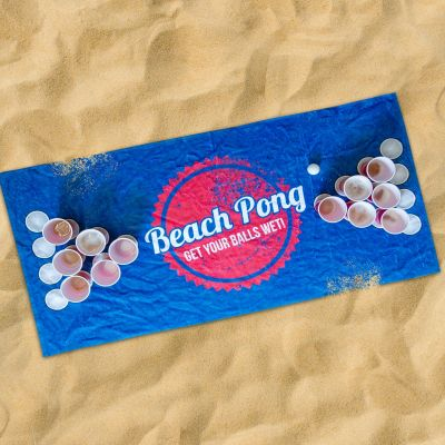 Party Games - Beach Pong Handdoek