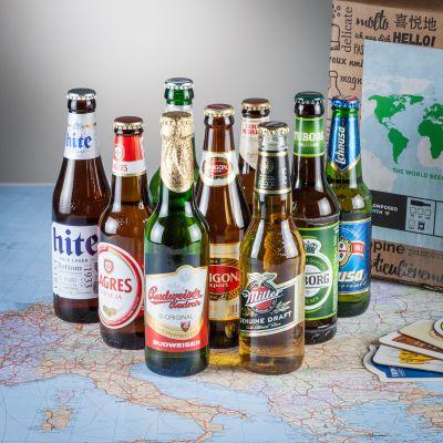 Cadeau voor hem - Bierwereldreis in geschenkdoos