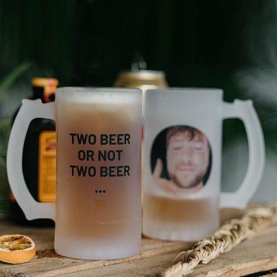 Exclusieve mokken en glazen - Personaliseerbare bierpul met foto en tekst