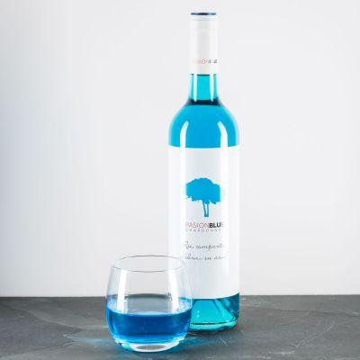 Verjaardagscadeau voor vriend - Blauwe Chardonnay