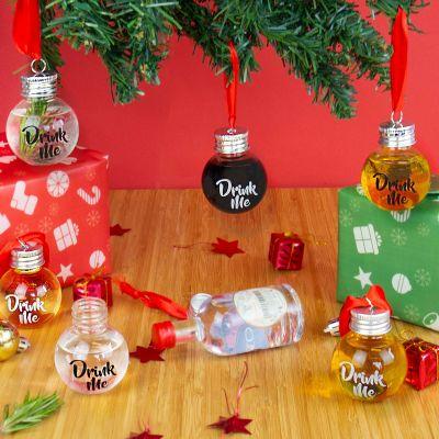 Kerstversiering - Likeur Kerstboomballen