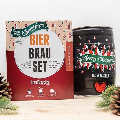 Kerstcadeau - Bierbrouwset Kersteditie