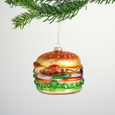 Kerstversiering - Maxi burger Kerstboom decoratie