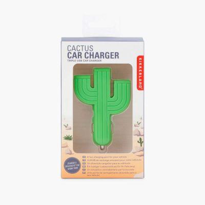 Gadgets & Techniek - Cactus oplader voor de auto