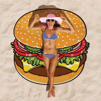 Zwembad Accessoires - Cheeseburger strandlaken