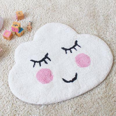 Decoratie - Wolk badkamer mat