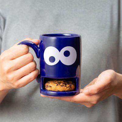 Monster mok met koekjeshouder