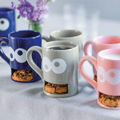 Kleine cadeautjes - Monster mok met koekjeshouder