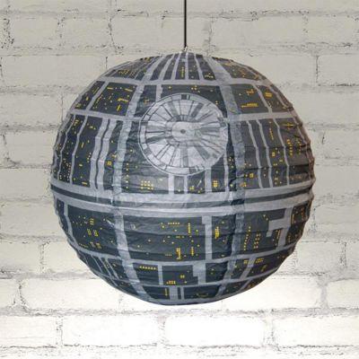Verlichting - Deathstar lampenkap